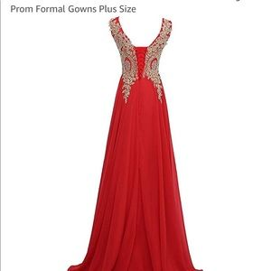 unknown Dresses - Chiffon prom/ bridesmaid dress size 6